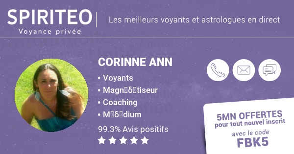 Voyance immediate avec Corinne - Spiriteo d84d0e716bb8